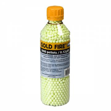 Gold Fire, 0.12g - 3000 pcs. in bottle
