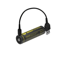 Nitecore Battery 18650 Micro USB - 2600mAh