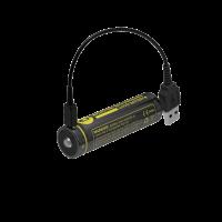 Nitecore Battery 18650 Micro USB - 2600mAh