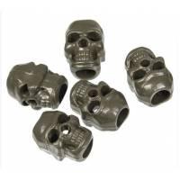 Mil-Tec Cord Stopper Skull (10pcs) Olive