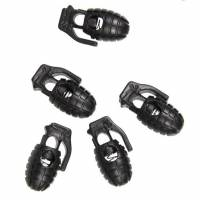 Mil-Tec Cord Stopper Pineapple (10pcs) Black