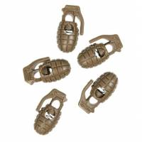 Mil-Tec Cord Stopper Pineapple (10pcs) Coyote
