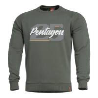 Pentagon Hawk Sweater - Camo Green