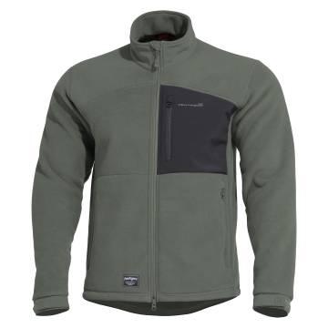 Pentagon Athos Double Micro Fleece Jacket - Camo Green