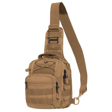Pentagon UCB 2.0 Tactical Chest Bag - Coyote