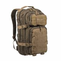 Mil-Tec US Assault 20L Backpack SM - Ranger Green / Coyote