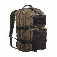 Mil-Tec US Assault 36L Backpack LG - Ranger Green / Black