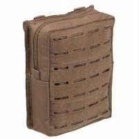 Mil-Tec Belt Pouch Large Laser Cut - Dark Coyote