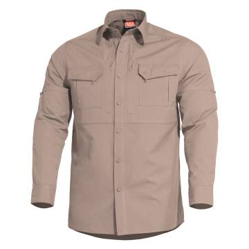 Pentagon Plato Tactical Long Shirt - Khaki