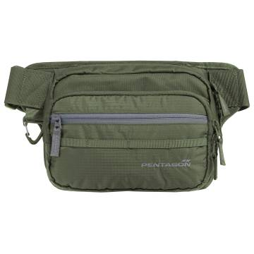 Pentagon Runner Concealment Pouch - Olive