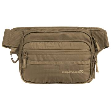 Pentagon Runner Concealment Pouch - Coyote