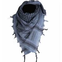 Mil-Tec Shemagh 110x110cm - Blue / Black