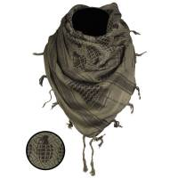 Mil-Tec Shemagh Scarf Pineapple - Olive / Black