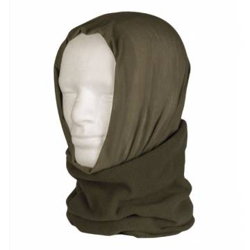 Mil-Tec Multi Function Headgear (Half Fleece) Olive