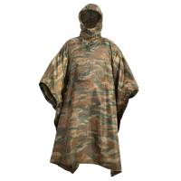 Tac Maven Thunder Poncho - Greek Lizard