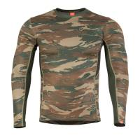 Pentagon Apollo Tac-Fresh Long Shirt - Greek Lizard