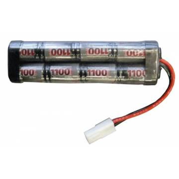 Battery 9,6V NiMH 1100mAh (Mini Type)