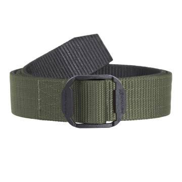 """Pentagon Komvos Double Belt 1.50"""" - Olive / Black"""