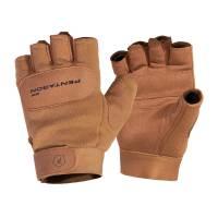 Pentagon Duty Mechanic Half Gloves - Coyote