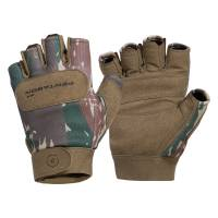 Pentagon Duty Mechanic Half Gloves - Greek Lizard