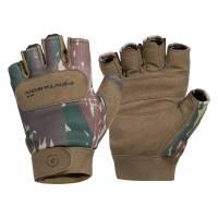 Pentagon Duty Mechanic Half Gloves - Greek Lizard