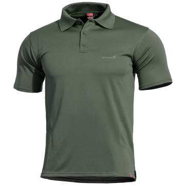 Pentagon Anassa Polo T-Shirt - Camo Green