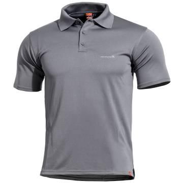 Pentagon Anassa Polo T-Shirt - Cinder Grey