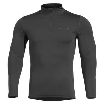 Pentagon Pindos 1/2 Zip Thermal Shirt - Black
