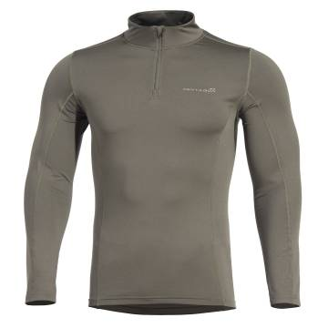 Pentagon Pindos 1/2 Zip Thermal Shirt - Olive