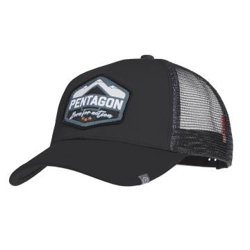 Pentagon Era Trucker Cap (Born for Action) Black
