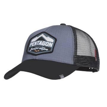 Pentagon Era Trucker Cap (Born for Action) Wolf Grey