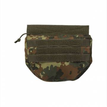 Mil-Tec Drop Down Pouch - Flecktarn