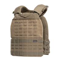 Pentagon Milon Plate Carrier Laser Cut - Coyote