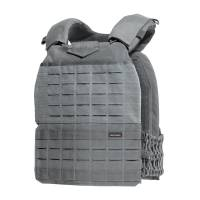 Pentagon Milon Plate Carrier Laser Cut - Wolf Grey