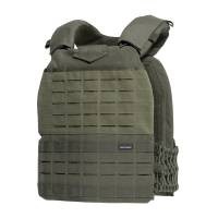 Pentagon Milon Plate Carrier Laser Cut - Ranger Green