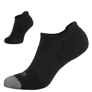 Pentagon Invisible Socks - Black