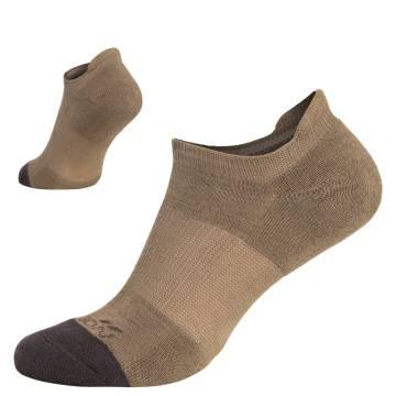 Pentagon Invisible Socks - Coyote