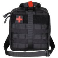 MFH First Aid Pouch LG Molle - Black