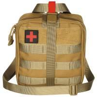 MFH First Aid Pouch LG Molle - Coyote