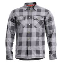 Pentagon Bliss Flannel Jacket - Wolf Grey