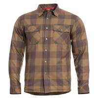 Pentagon Bliss Flannel Jacket - Terra Brown
