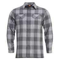 Pentagon Drifter Flannel Shirt - Wolf Grey