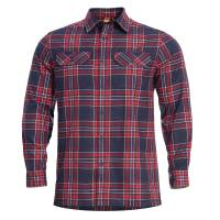 Pentagon Drifter Flannel Shirt - Red