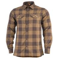 Pentagon Drifter Flannel Shirt - Terra Brown