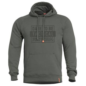 Pentagon Phaeton DT Hood Sweater - Camo Green
