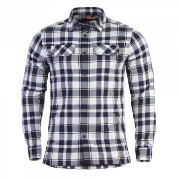 Pentagon Drifter Flannel Shirt - Blue