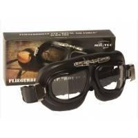 Mil-Tec Royal Air Force Aviator Goggles - Black