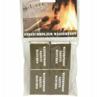Mil-Tec Water Resistant Matches 4 pcs