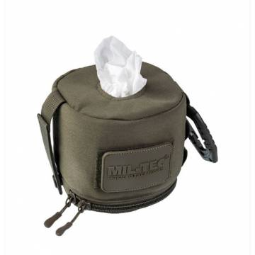 Mil-Tec Tissue Molle Case - Olive