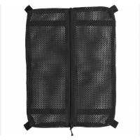 Mil-Tec Mesh Bag w/ Velcro Large - Black